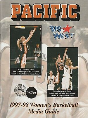 1997-98 PACIFIC TIGERS WOMEN'S NCAA BASKETBALL MEDIA GUIDE