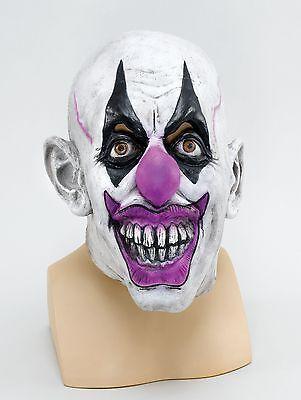 Evil Scary Clown Latex Overhead Halloween Horror Fancy Dress Mask P9401