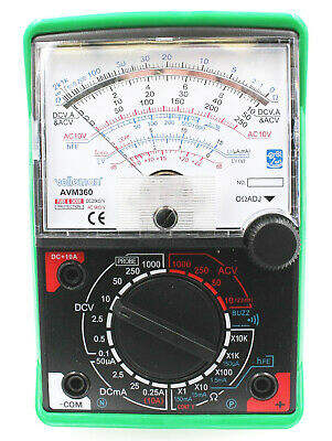 Avm360 Velleman Analog Multi-meter Batteries Included