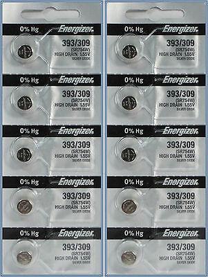 393 Energizer Batteries 10 Pk