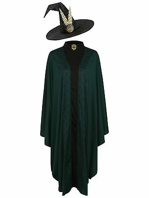 Harry Potter Professor McGonagall Adult Fancy Dress Costume Party World Bookday