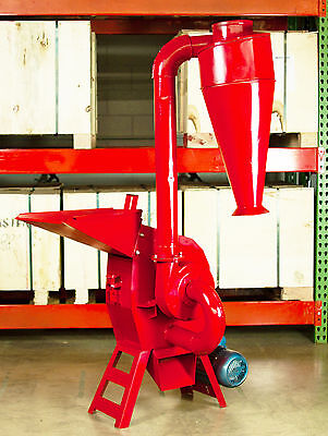 Hammer Mill Feed Grinder - 5hp 220v 3ph Electric Powered! USA In-stock w/Support