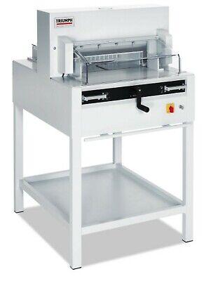 Mbm Triumph 4850 18 58 Paper Cutter Automatic Cut Clamp Digital Display New