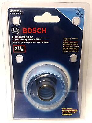 "Bosch HSM212 2-1/8"" Bi-Metal Hole Saw For Sheet Metal 0"