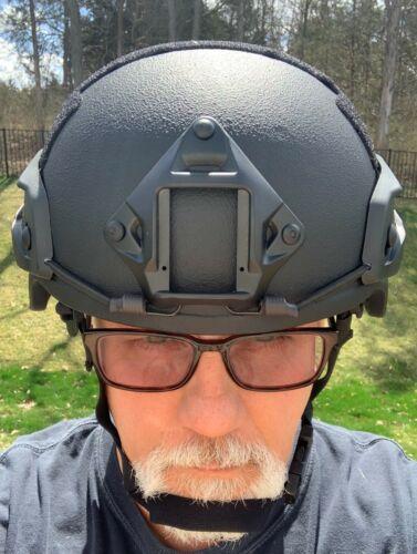 True NIJ IIIA Ballistic Bulletproof Helmet MICH Made with Kevlar® (VIDEO)