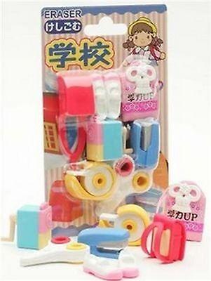 Japanese Iwako School Take Apart Party Eraser Set Pink #0594 - Party Apart