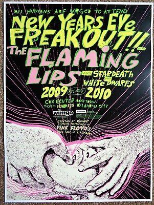 FLAMING LIPS 2009 Gig POSTER Oklahoma City Concert