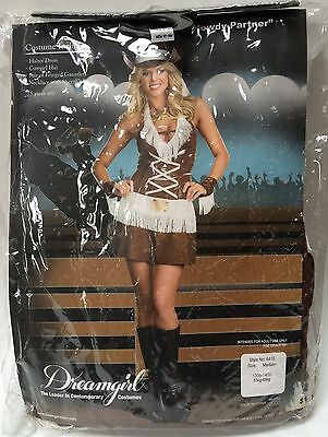 Women's Cowgirl Howdy Partner Halloween Costume Size Medium AS-IS](Halloween Partner Costumes)