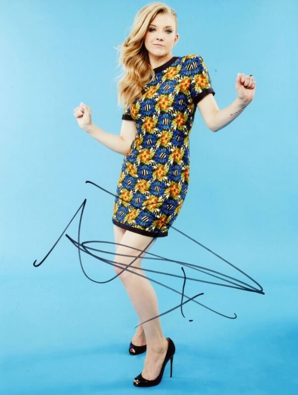 Natalie Dormer AUTOGRAPH Signed 8x10 Photo ACOA