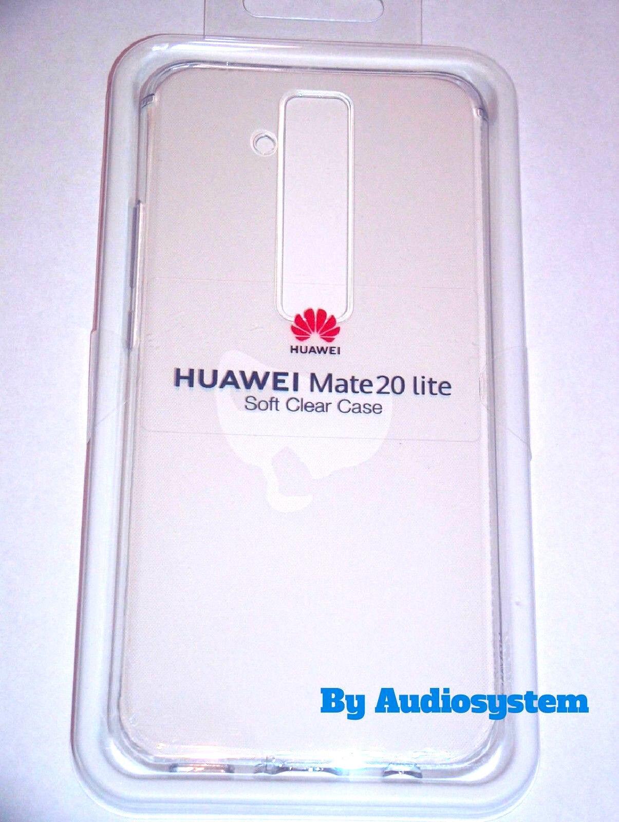 COVER MAGIC CASE ORIGINALE BLISTER HUAWEI MATE 20 LITE SNE-LX1 LX2 CUSTODIA NERO