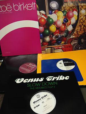 "5 x DOWNTEMPO- 12"" EP Vinyl Records 1959-2003"