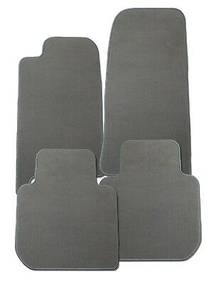 Fußmatten für Mercedes CLS C257 in Velours Elegant grau
