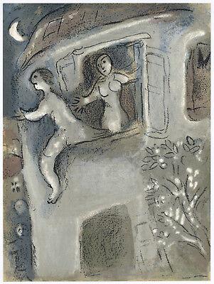 Marc Chagall original Bible lithograph