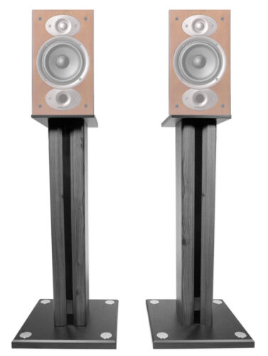 "Pair 26"" Bookshelf Speaker Stands For Polk Audio RTI A3 Book"