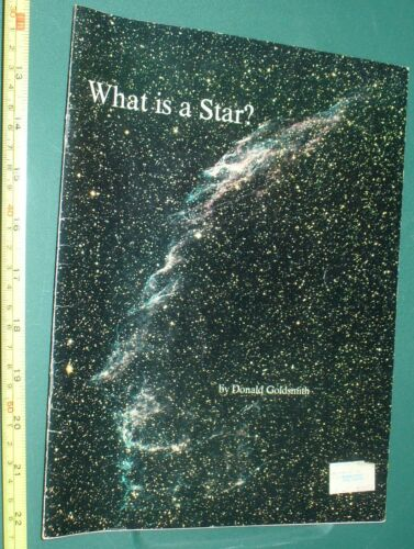 rare NASA What is a Star? black & white book planets stars rocket drawings used