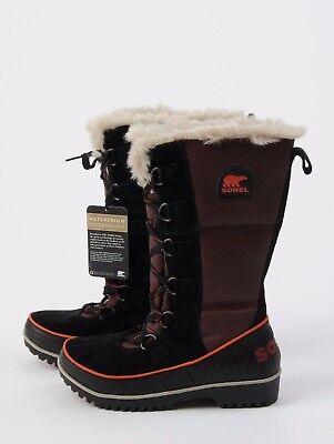NEW SOREL Tivoli High II BOOTS Madder Brown WATERPROOF Size 6.5 Women's Snow