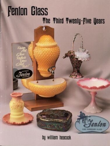 Fenton Glass (1956-1980) - Types Design Numbers Dates / Illustrated Book