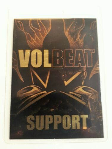 VOLBEAT BACKSTAGE PASS - 2010 WORLD TOUR