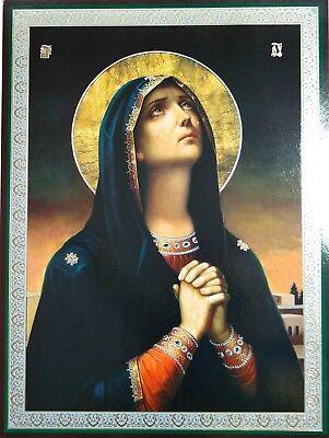Mourning Praying Mother Of God Icon Икона Скорбящая Молящая Б Матерь 30x40cm