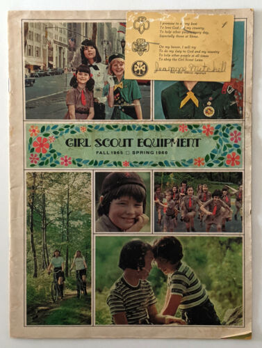Vintage Fall 1965- Spring 1966 Girl Scout Equipment Catalog - 23 Pages