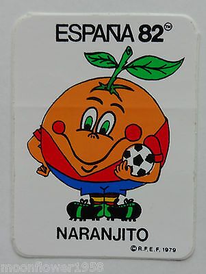Sticker Aufkleber Naranjito Espana 82 Fußball Spanien