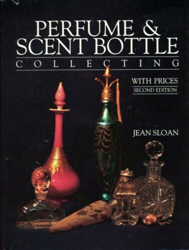 Art Glass Perfume Scent Bottles - Lalique DeVilbiss Moser Etc.  / Scarce Book