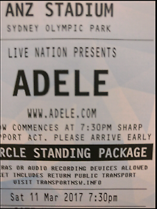 Adele tickets x2 VIP Golden Circle 'Inner Stage' Strathpine Pine Rivers Area Preview