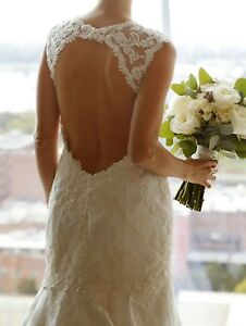 Casablanca Bridal Wedding Dress Fit and Flare Style
