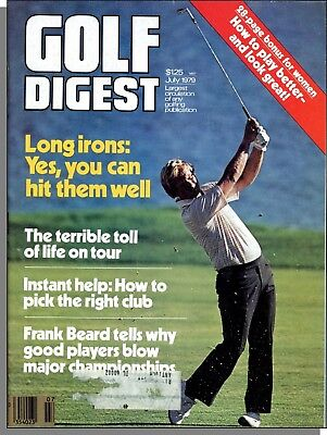 Golf Digest Irons - Golf Digest - 1979, July - Long Irons, Life on Tour, How to Pick The Right Club