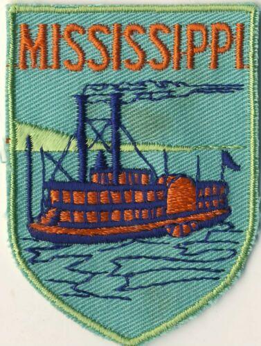 "Mississippi MS Riverboat Souvenir 2.75"" Patch"