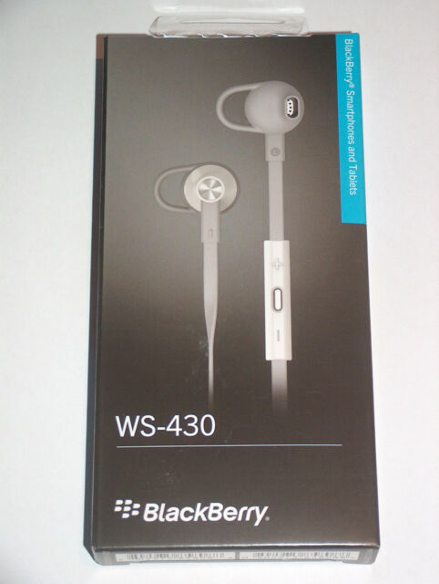 Original Blackberry Premium Headset 3.5mm WS-430 Z30 Leap Classic Passport Priv