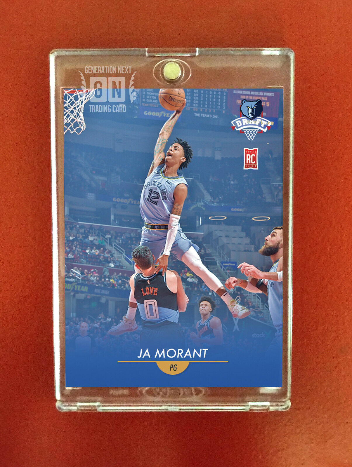 Ja Morant Rookie Card / Memphis Grizzles / Generation Next