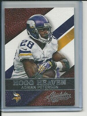 - ADRAIN PETERSON 2014 PANINI ABSOLUTE HOG HEAVEN INSERT CARD 67