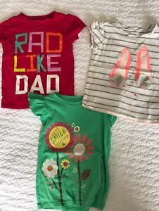 Toddler girl T-shirts. Size 3T