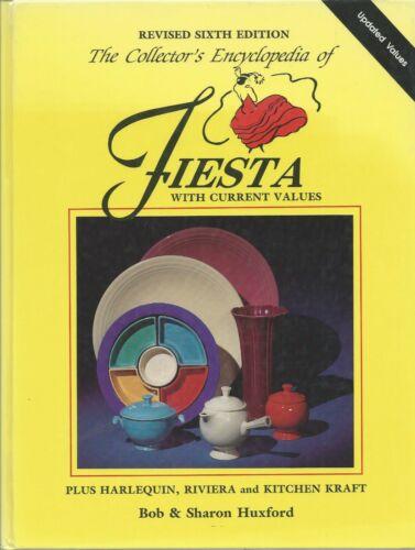 BOOK - Encyclopedia of FIESTA Plus HARLEQUIN, RIVIERA & KITCHEN KRAFT - Huxford