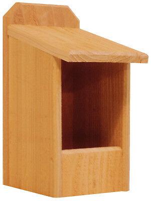 1 Cedar Nesting Box, for Robins, Cardinals, Bluebirds, Titmouse.... Bird House