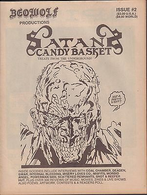 Beowolf Productions Satans Candy Basket, Coal Chamber, Snot VG 070816DBE2](Candy Coal)