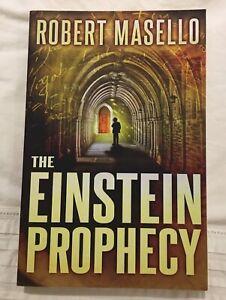 The Einstein Prophecy, Robert Masello, paperback, 2015 Bentleigh East Glen Eira Area Preview