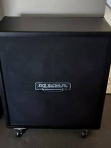 Mesa Boogie Rectifier 4x12 standard staight guitar cab with cover