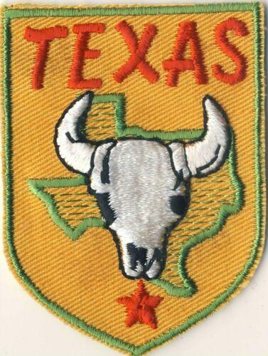 """TX Texas Longhorn Orange Souvenir Backpack Tourist 2.75"""" Patch"""