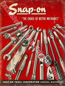 Vintage-Garaje-22-Mecanica-Herramientas-taller-PUBLICIDAD-Grande-Metal-Lata