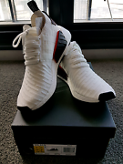 Brand New Adidas NMD R2 White Black US 9. Southbank Melbourne City Preview