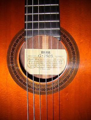 Vtg 1978 Yamaha G-250s Classical Guitar In Excellent Condition W/ Brand New Hc