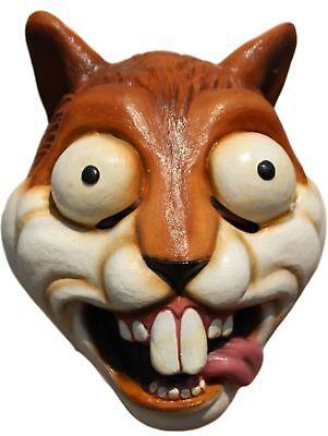 Squirrel Mask (Crazy Squirrel Adult Latex Mask Funny Cartoon Anime)