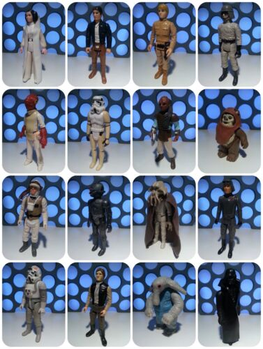 STAR WARS VINTAGE PALITOY KENNER 1977-1983 RETRO GENUINE FIGURES COLLECTION LOT