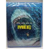 The Meg (Blu-ray + DVD + Digital; 2018) NEW
