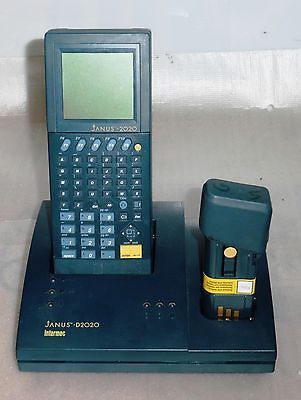 Intermec Janus J2020 Pos Scanner Computer W D2020 Battery No Ac Adapter