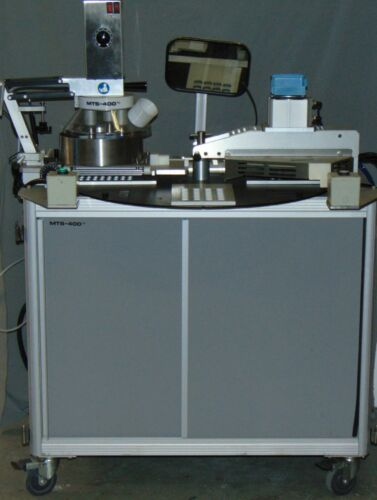 MTS 400 Semi-Automated Electric Pill Blister Heat Packing w/ Conveyor Labeler