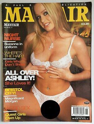 Mens Vintage Classic Glamour Magazine Mayfair Vol.40 No.11