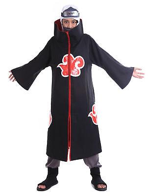 Naruto Shippuden Cosplay Costume Hidden Waterfall Akatsuki Member Kakuzu - Akatsuki Kakuzu Cosplay Kostüm